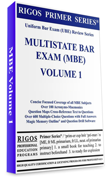 Multistate Bar Exam- Study material- Volume 1